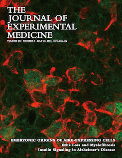 The Journal of Experimental Medicine 2016 Cover
